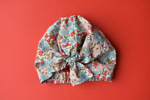 Little Land Girl Baby Hat - Liberty Poppy & Daisy - Tot Knots of Brighton