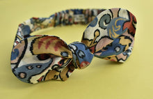 Ladies Tot Knot hairband - Multicolour Graphic Print - Tot Knots of Brighton