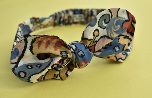Ladies Tot Knot hairband - Merchant Graphic Print - Tot Knots of Brighton