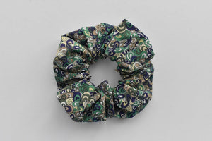 Green Rainbow Wave Graphic Scrunchie - Tot Knots of Brighton