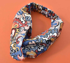 Kids Tot Knot Twisted hairband - Liberty of London Merchant Graphic print - Tot Knots of Brighton