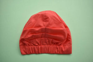 Ladies Turban Hat - Coral Red - Tot Knots of Brighton