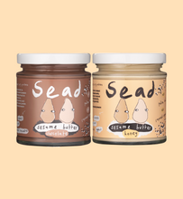 Load image into Gallery viewer, Honey & Chocolate Sesame Butter Bundle (2 Pack)