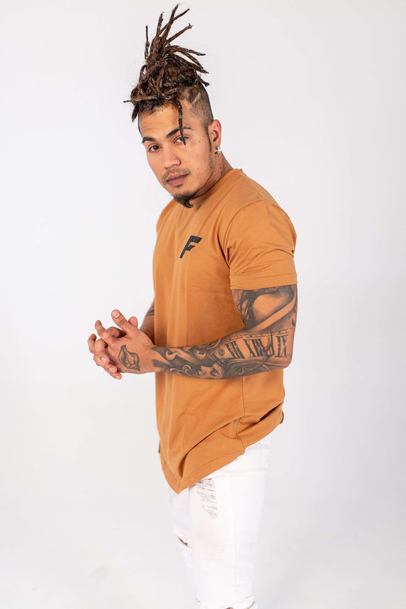 Signature Slim Fit Longline - Tan