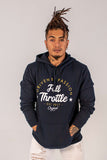 Full Throttle Hoodie - Navy Blue