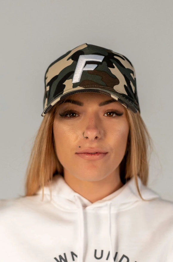 Limited Edition Snapback - Green Camo