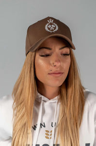 King of the track Snapback - Light Brown