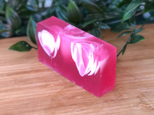 Load image into Gallery viewer, New! Summer Rose, with Rose Hip Oil - Théo's Planet Soap Bar