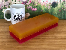 Load image into Gallery viewer, New! Rhubarb & Sicilian Lemon - Théo's Planet Soap Bar