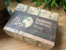Load image into Gallery viewer, Pack of 200 - Bamboo Cotton Buds