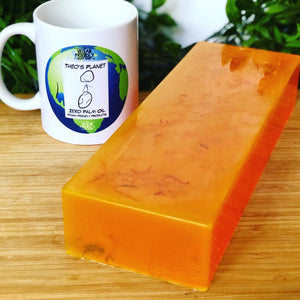 New! May Chang & Mandarin, Essential Oils - Théo's Planet Soap Bar