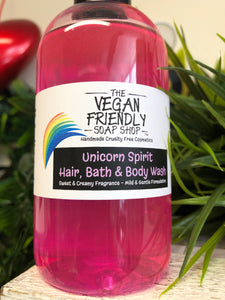 Unicorn Spirit - Hair, Bath and Body Wash