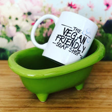 Load image into Gallery viewer, Mini Ceramic Bath Tub - Lime Green