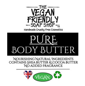 Pure, No added Fragrance or Colour - Body Butter 200g
