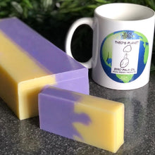 Load image into Gallery viewer, New for 2021! Lavender & Lemon Essential Oils - Théo's Planet Soap Bar 110g