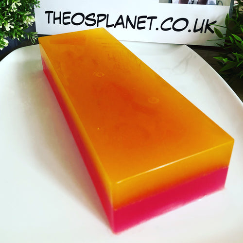 New! Rhubarb & Sicilian Lemon - Théo's Planet Soap Bar