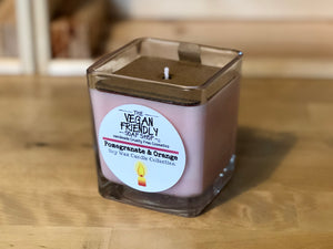 Pomegranate & Orange - Natural Soy Wax Candle