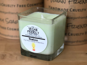 Bamboo Fragrance - Natural Soy Wax Candle with Gift Box