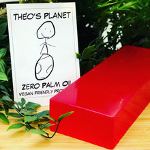 Load image into Gallery viewer, New! Cranberry, with real Cranberry Seed Oil - Théos Planet Soap Bar