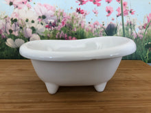 Load image into Gallery viewer, Mini Ceramic Bath Tub - White