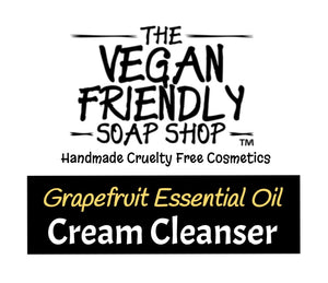 Grapefruit Essential Oil - Cream Cleanser