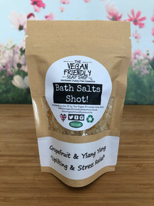 Grapefruit & Ylang Ylang - Bath Salts Shots