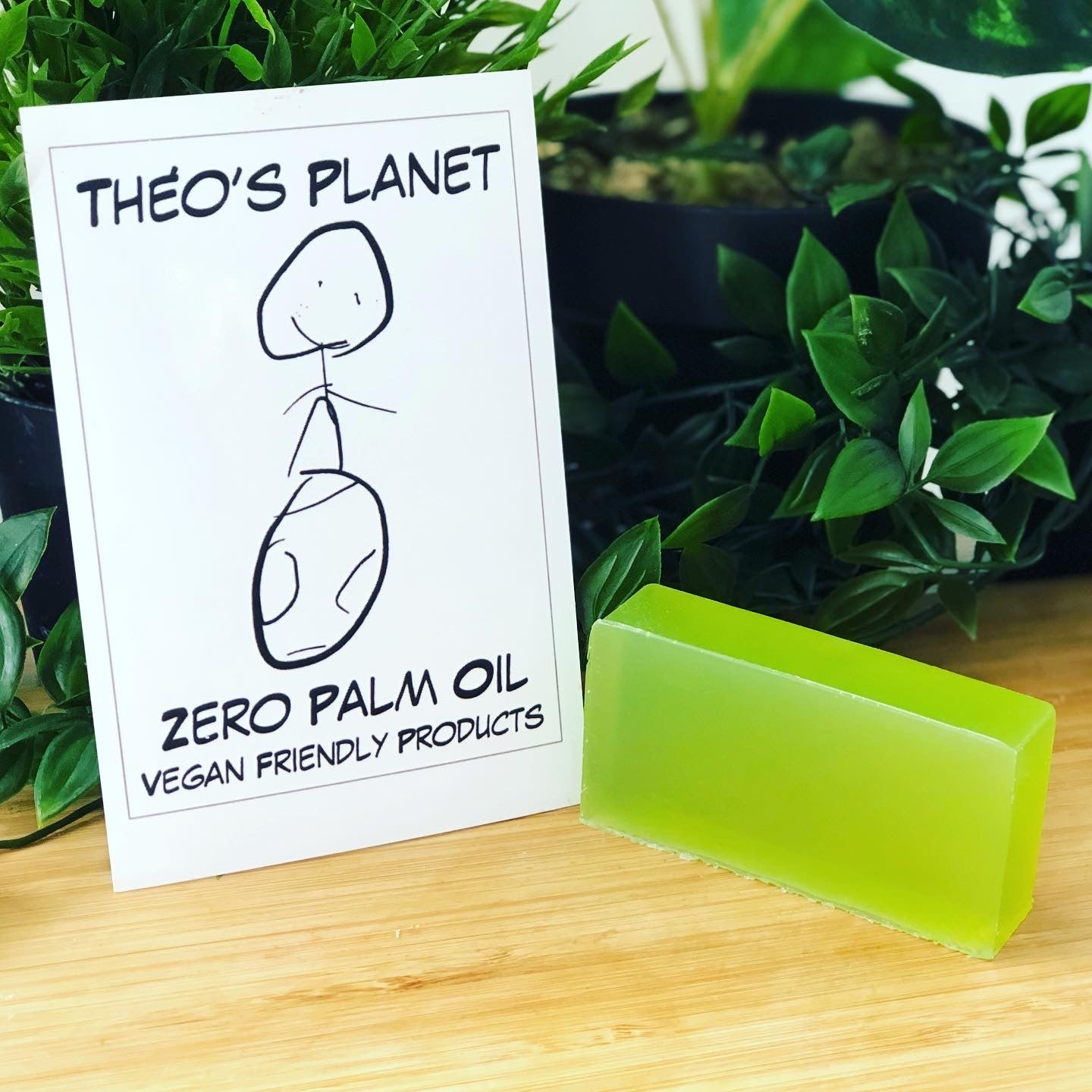 Green Apple Garden - Théo's Planet Soap Bar 110g