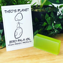 Load image into Gallery viewer, Green Apple Garden - Théo's Planet Soap Bar 110g