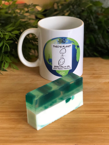 New! Aloe Vera - Théo's Planet Soap Bar