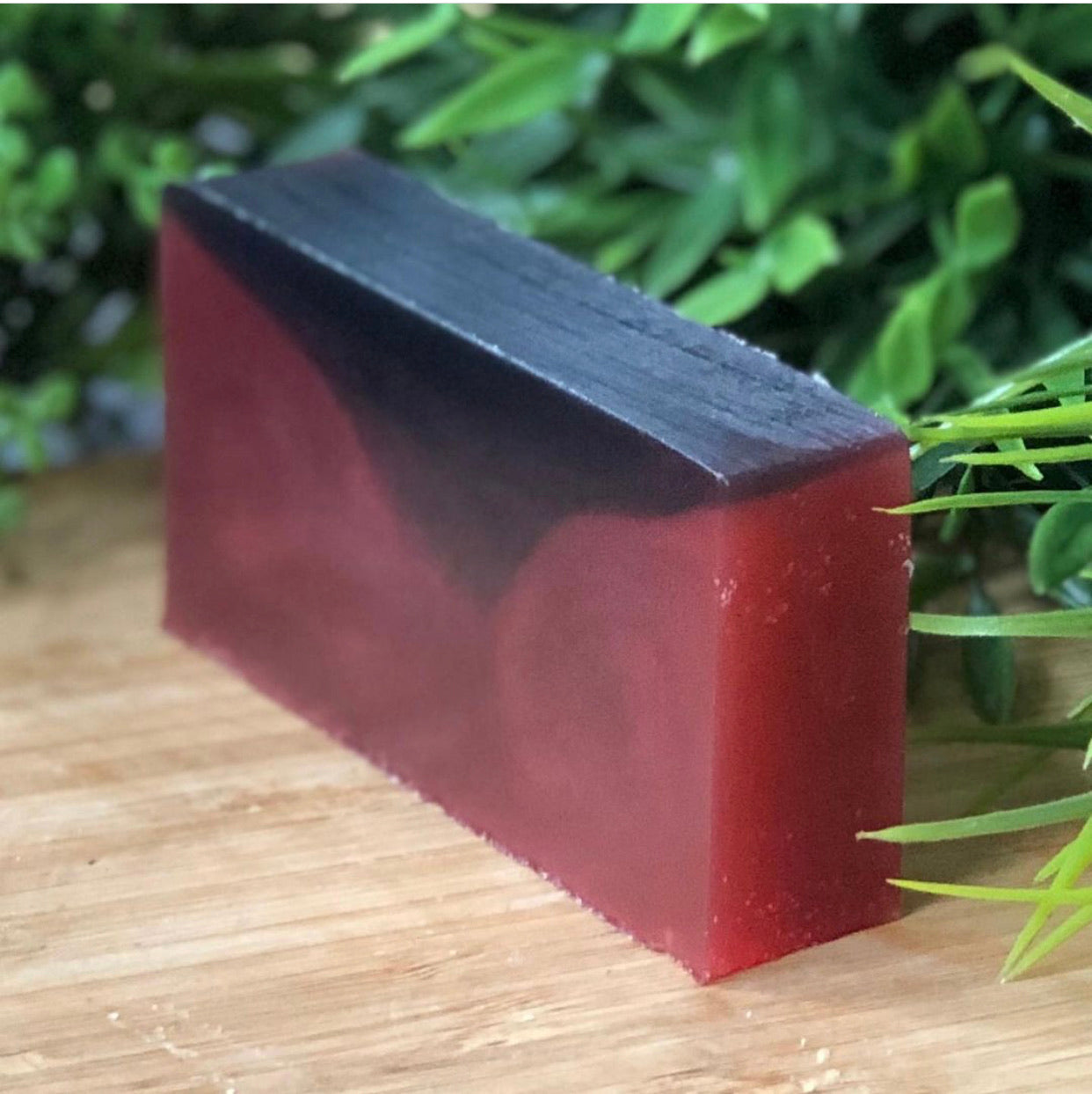 Pomegranate Noir, with Sparkling Mica - Théo's Planet Soap Bar