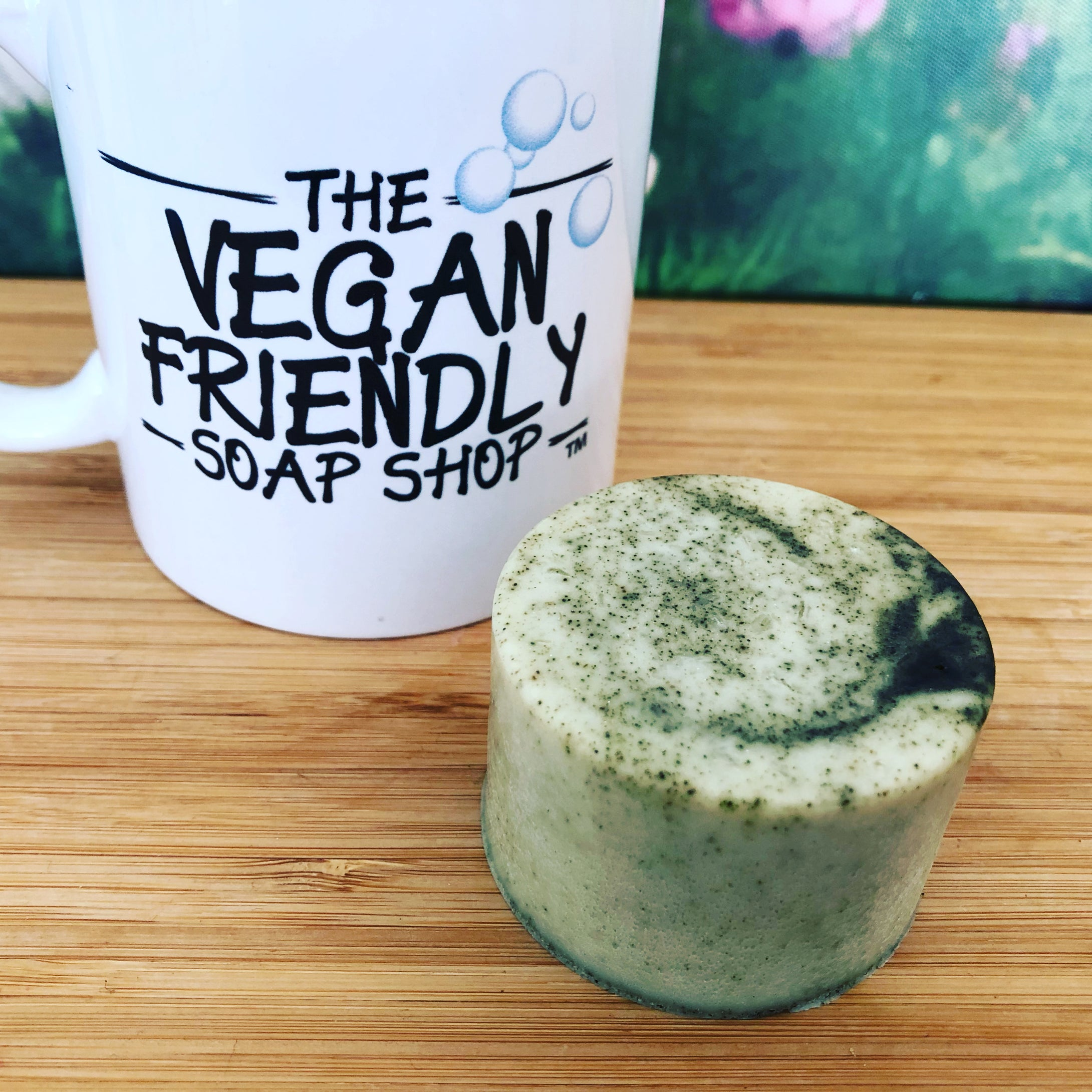 Organic Hemp Oil, Chamomile Essential Oil with Nettle - Shampoo & Conditioner Bar