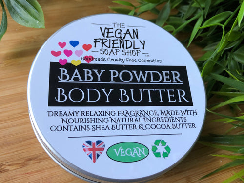 Baby Powder Luxury Fragrance - Body Butter