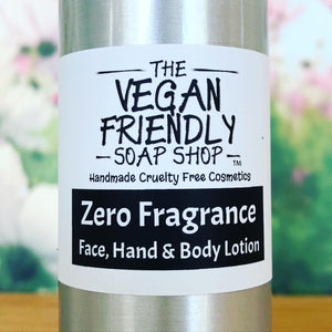 Zero Fragrance - Hand, Face, Foot & Body Lotion 100g