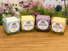 Load image into Gallery viewer, Lavender & Basil - Natural Soy Wax Candle with Bamboo Gift Box