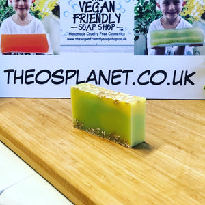 New! Jungle Fruit Smoothie - Théo's Planet Soap Bar 110g