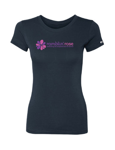 Ramblin' Rose Ultra Soft Tee (Black)