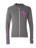 Ramblin' Rose Hoodie (Light Grey)