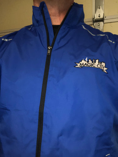 Running Jacket (Blue) - Magic City