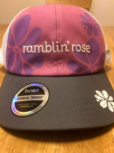 Ramblin' Rose Trucker Hat (boco Gear)