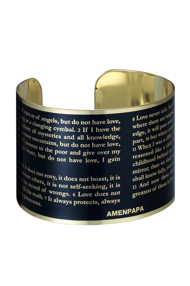 Holy Bible Wide Bracelet