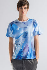 Unisex Skyline Digital Print Tee