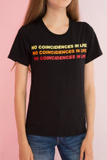 No Coincidences Printed Tee