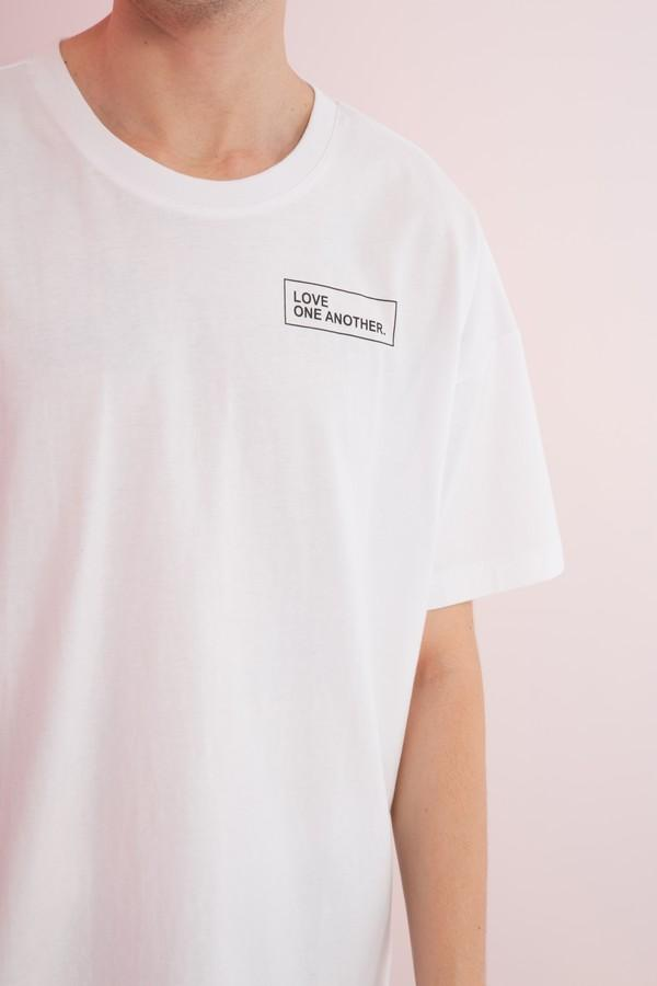 Oversized Last Supper Printed Tee - AMENPAPA Fashion