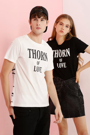 Thorn Of Love Printed Tee - AMENPAPA Fashion