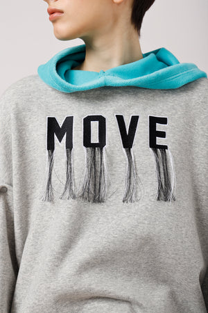 Convertible Fringed Hoodie - AMENPAPA Fashion