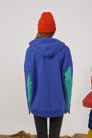 Move Mountains Paneled Hoodie