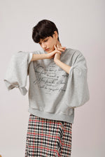 Convertible 2-ways Sweatshirt