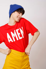 Unisex AMEN Printed Tee - AMENPAPA Fashion