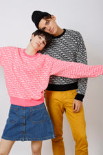 Unisex Amen Intarsia Sweater - AMENPAPA Fashion