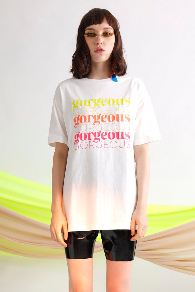Gorgeous printed oversize tee